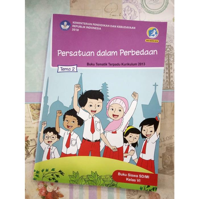 Jual Buku Tematik Terpadu Tema 2 Persatuan Dalam Perbedaan Sd Mi Kelas Vi Kota Denpasar Togamas Dewata Tokopedia