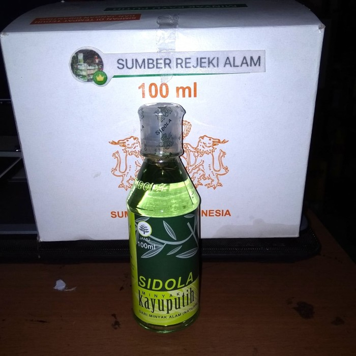 Jual Minyak Kayu Putih Sidola 100ml - Jakarta Barat