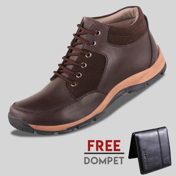 harga Sepatu casual pria s. van decka d-wr026k free dompet - hitam Tokopedia.com