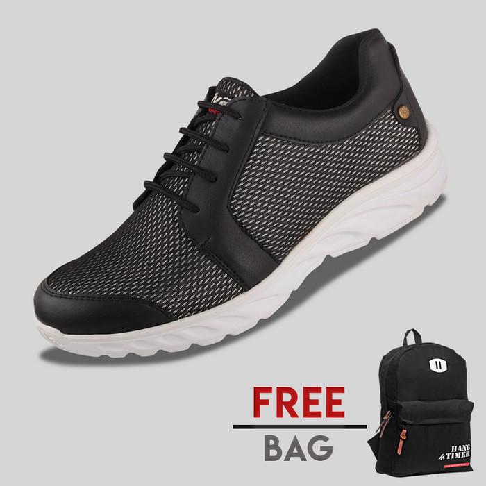 harga Sepatu casual pria s. van decka r-dlx ransel - hitam Tokopedia.com
