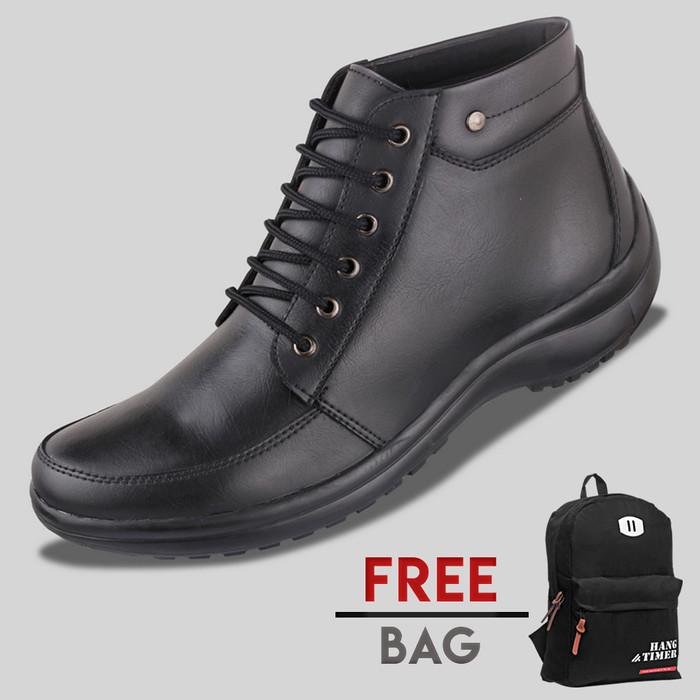 harga Sepatu casual pria s. van decka r-mz025 free ransel - hitam Tokopedia.com