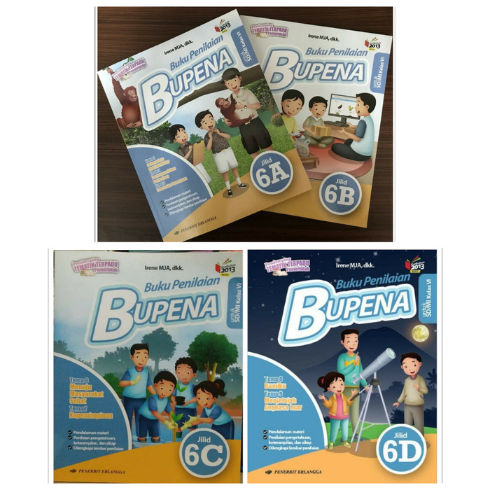 Download Buku Bupena Kelas 6a Guru Galeri