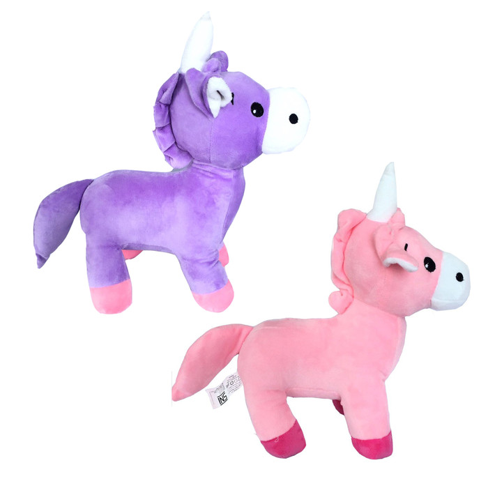 harga Boneka kuda unicorn my little pony pink dan ungu - kualitas sni Tokopedia.com