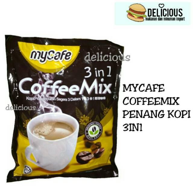 Jual Mycafe Coffeemix My Cafe Penang Kopi Isi 30 Kota Batam Bagcollectionshop Tokopedia