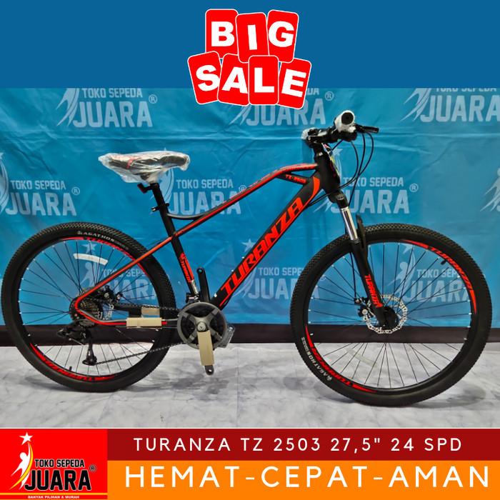 harga Sepeda mtb turanza tz 2503 275 inch 24 speed Tokopedia.com