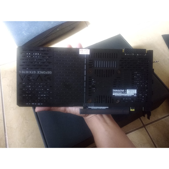 Jual EVGA GeForce GTX 1070 Ti FTW2, seri tertinggi, full backplate  LIMITED  - Kab  Jepara - Iwanda Store | Tokopedia