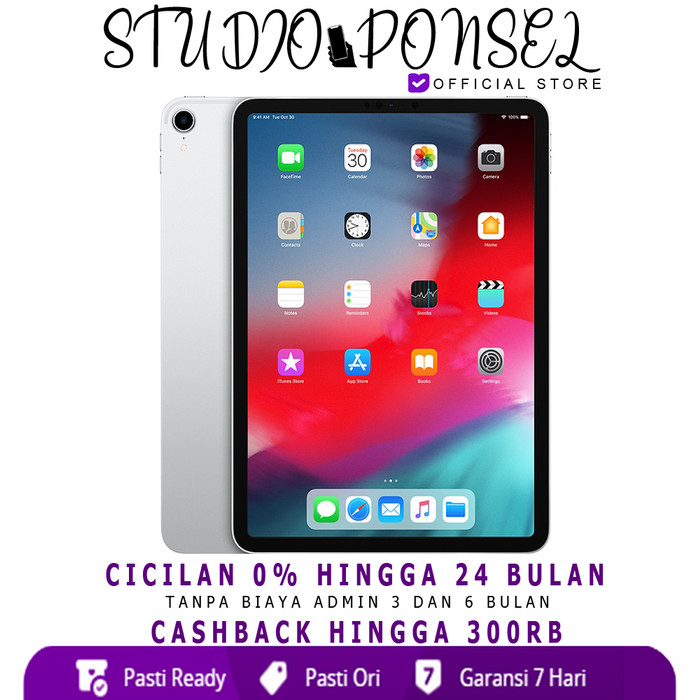 harga Apple ipad pro 11  2018 4g wifi + cellular 512gb 512 garansi 1 tahun - space grey Tokopedia.com