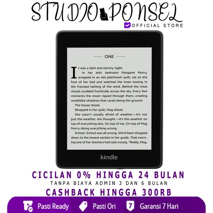 harga Amazon new kindle paperwhite 10th gen 32gb black Tokopedia.com