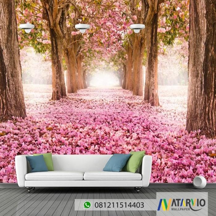 Jual Terjamin Wallpaper Custom Gambar Bunga Sakura Jakarta Pusat