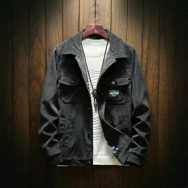 Foto Produk TERLARIS Jaket Corduroy - Jaket Korea - Jaket Pria - Jaket Coduroy AS dari baraafashion