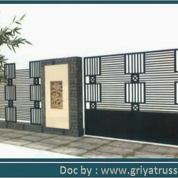 Jual Pagar Minimalis Hollow Galvanis 40x40 - Kab. Bekasi - Griya Truss |  Tokopedia