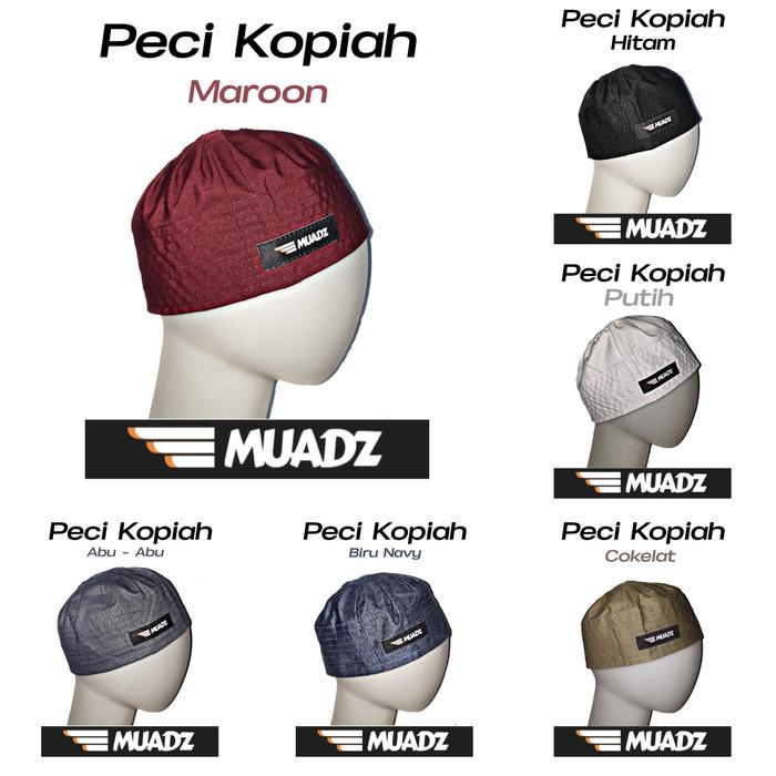 Foto Produk Peci Kopiah Kain - Muadz - Pria dari HAVI Store