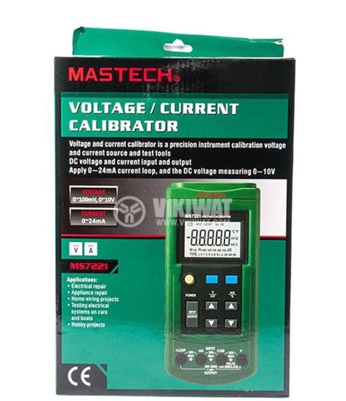 Jual Voltage Calibrator Mastech Ms7221 Ma Volt Current Calibration Tester Jakarta Barat Theyesehm123 Tokopedia