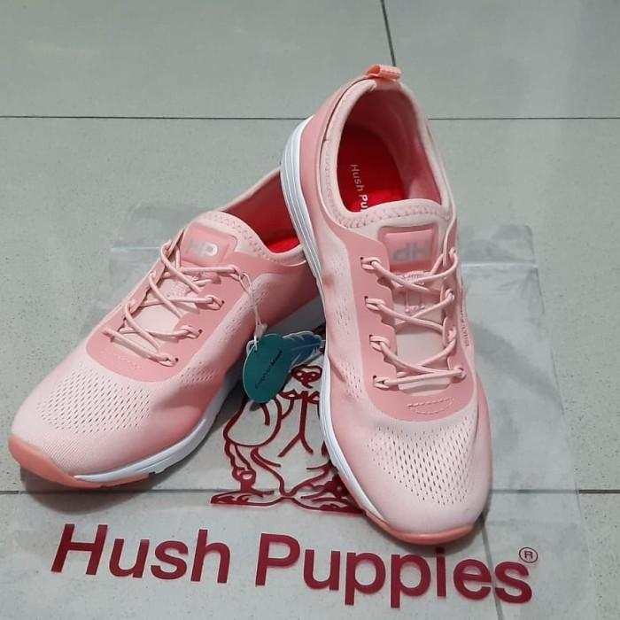 Jual Sepatu Hush Puppies Wanita Merah Muda 38 Kota Surabaya