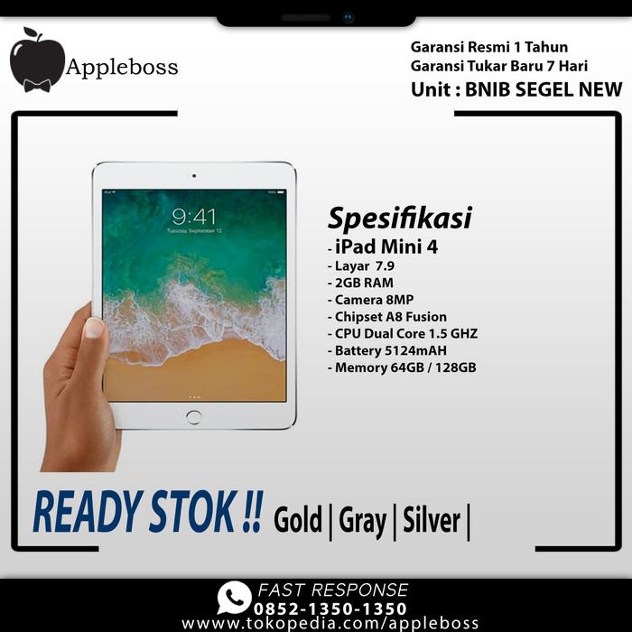 harga Ipad mini 4 128gb wifi only gold / grey / silver Tokopedia.com