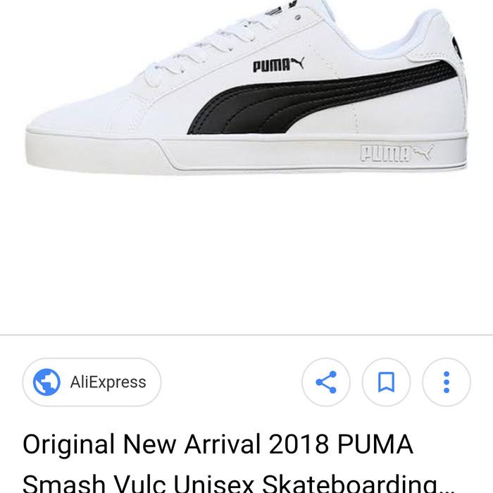 huge discount 21332 a313c Jual Sepatu Puma Smash Vulc - White - DKI Jakarta - Postblue | Tokopedia
