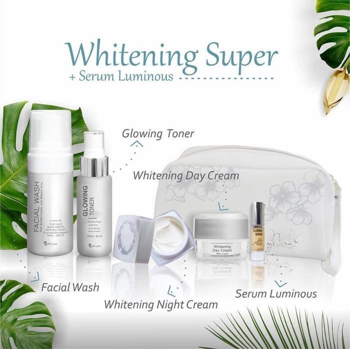 Jual Skincare Ms Glow Paket Ms Glow Whitening Super Wajah Putih Original Jakarta Barat Kedai Novita Tokopedia
