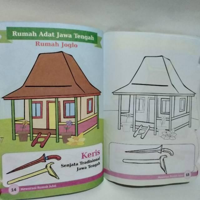 630 Gambar Rumah Adat Di Buku Gambar Gratis Gambar Rumah