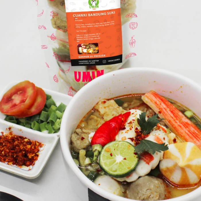 Jual Cuanki Bandung Suki Makanan Beku Kemasan Instant Enak Pedas