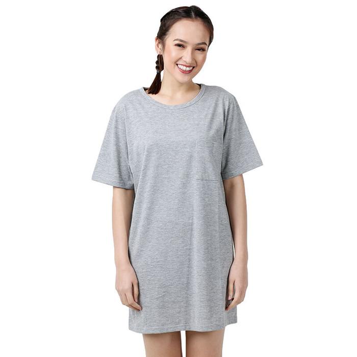 Foto Produk STYLEBASICS Big Tshirt with Pocket - Grey [L-XL] dari KimmyOutlet