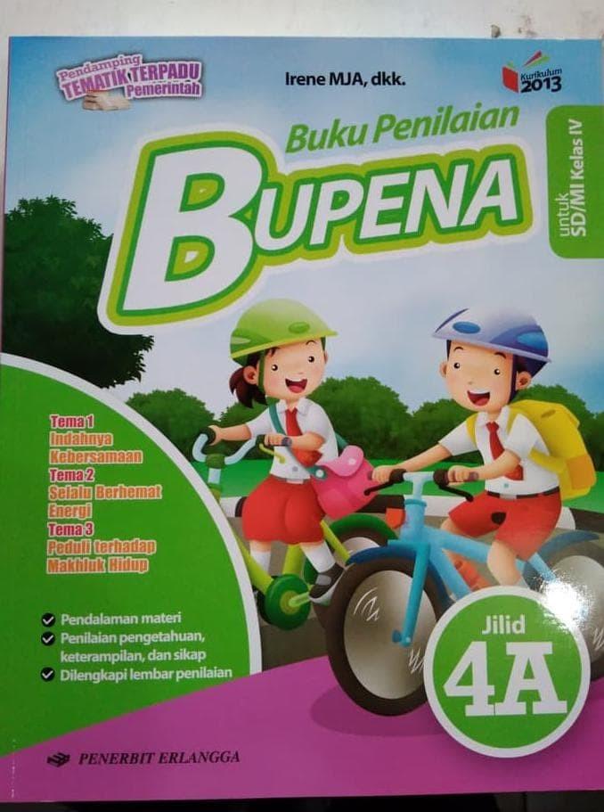 Jual Barang Bagus Bupena Buku Penilaian Jilid 4a Untuk Sd Mi Kelas Iv Jakarta Selatan Amelstore53a Tokopedia