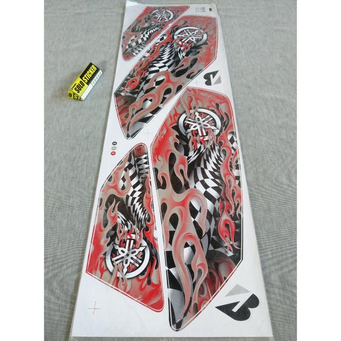 harga Striping sticker lis variasi motor yamaha rx king flame -1 Tokopedia.com
