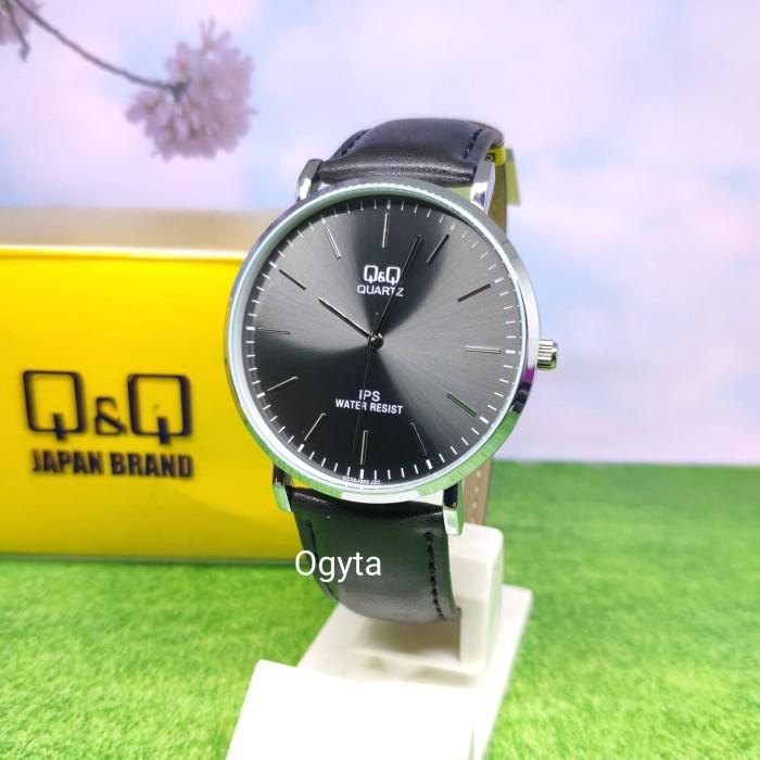 harga Q&q qq model dw jam tangan kulit hitam qz02j302y original Tokopedia.com
