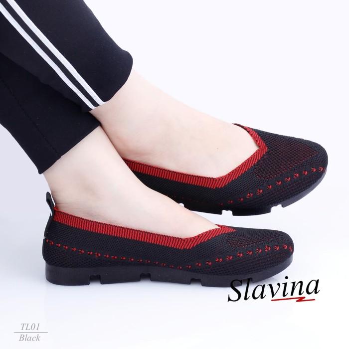 Jual Sepatu Wanita Modis Perempuan Sepatu Terbaru Slavina Bc Tl01