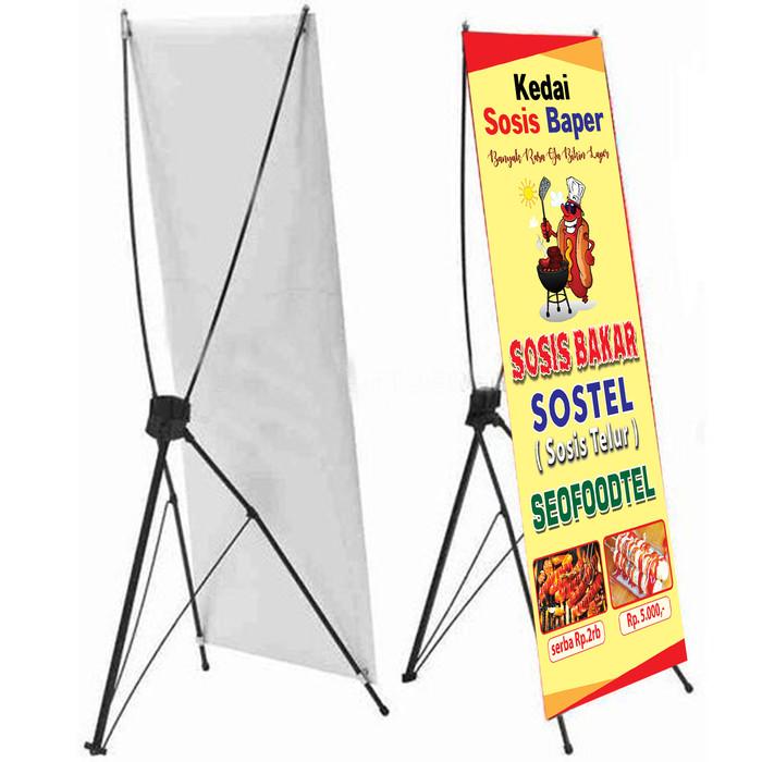 Desain Banner Sosis Telur - kumpulan contoh spanduk