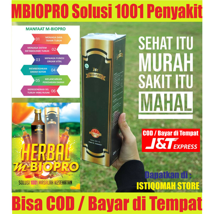 Foto Produk MBIOPRO | Agen Distributor Supplier Herbal Probiotik Agaric M-Bio Pro dari Istiqomah-Store