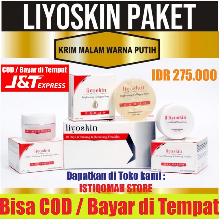 Foto Produk Paket Liyoskin BPOM Menghilangkan Plek Noda Hitam trulum di Wajah Alam dari Istiqomah-Store