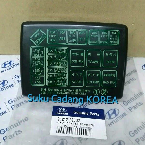 Fuse Box For Hyundai Accent