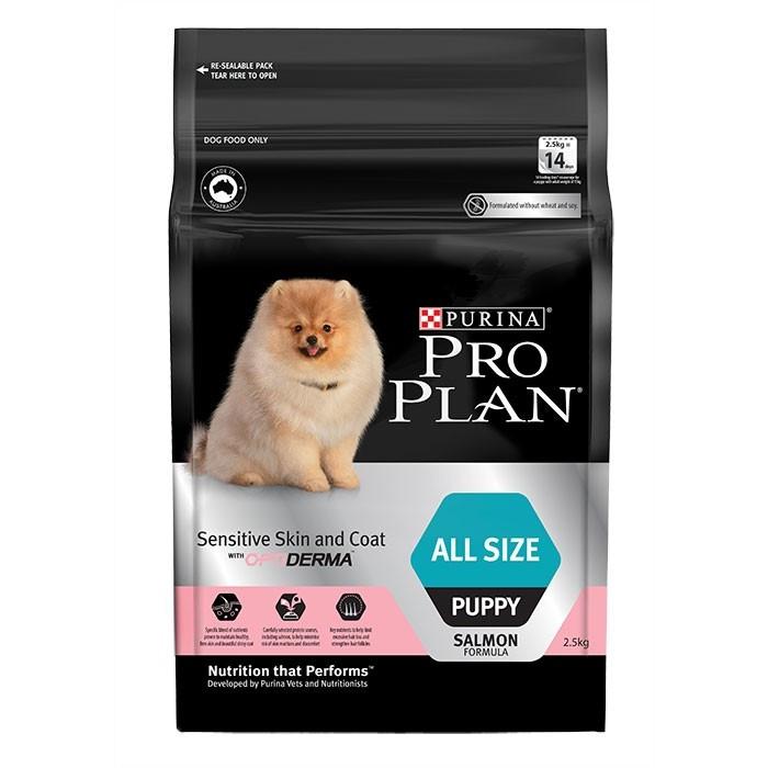 Foto Produk PRO PLAN 2.5 kg puppy all size sensitive skin and coat optiderma dari Pets Supply