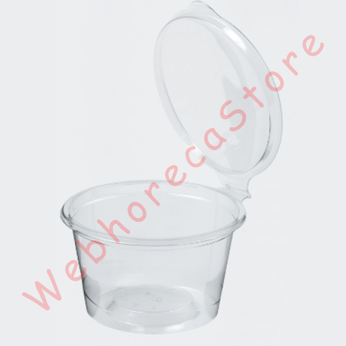 Foto Produk Sauce Cup Connected Lid 2oz 60ml dari WebhorecaStore