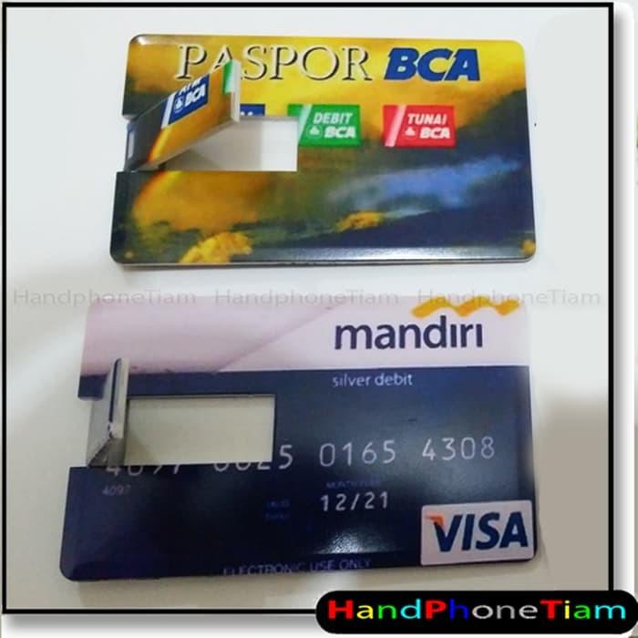 Jual Flashdisk Model Kartu Atm Mandiri Bca 8gb 8 Gb Kota Bandung Kazzuo Tokopedia