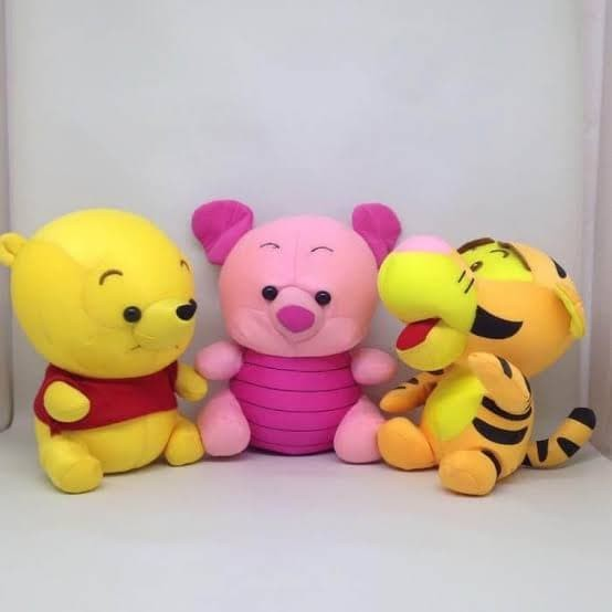 Jual 1 Set Boneka Winnie The Pooh Lucu Kota Medan Phinx Tokopedia