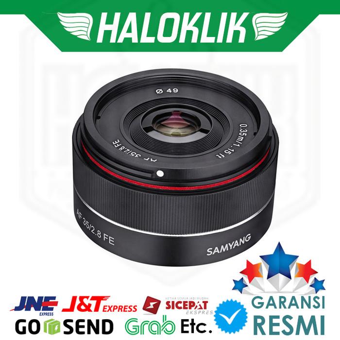 harga Samyang af 35mm f/2.8 fe lens for sony e Tokopedia.com