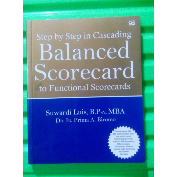 Foto Produk Suwardi Luis - Balanced Scorecard to Functional Scorecards dari DianTerang