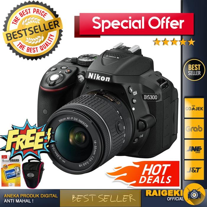 harga Nikon d5300 kit 18-55mm vr Tokopedia.com