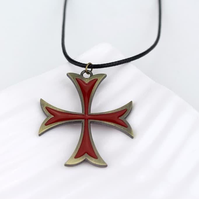 Jual Kalung Templar Salib Assassin S Creed Necklace Assasin Asassin Kreed Jakarta Barat Leonardoalexandra Tokopedia