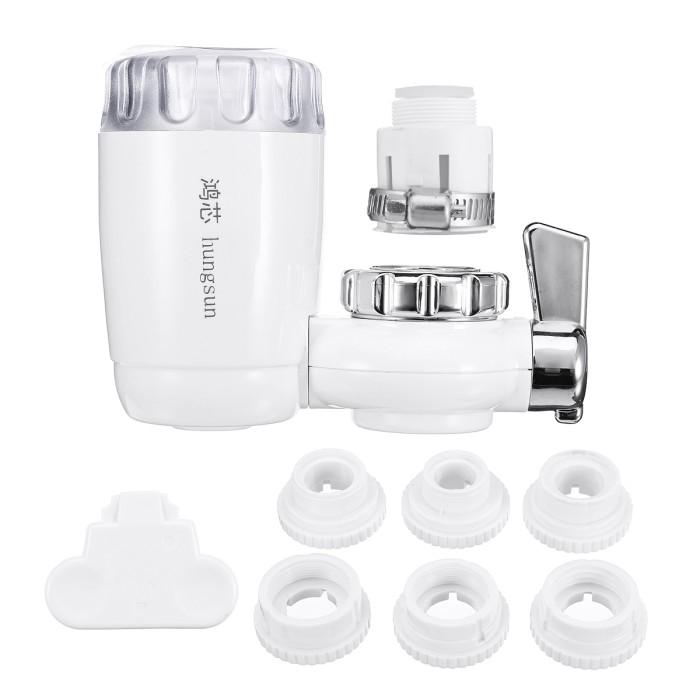 CRAZYON Home Kitchen Faucet Water-Saving Fliter Splash Proof Device Filter Valve