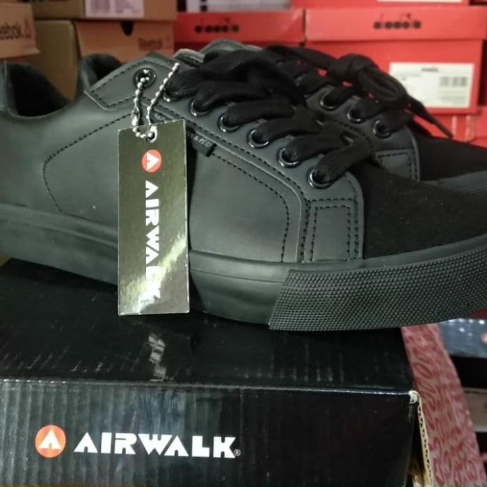 Jual Sepatu Airwalk Keid Original Hitam 40 Kota Semarang