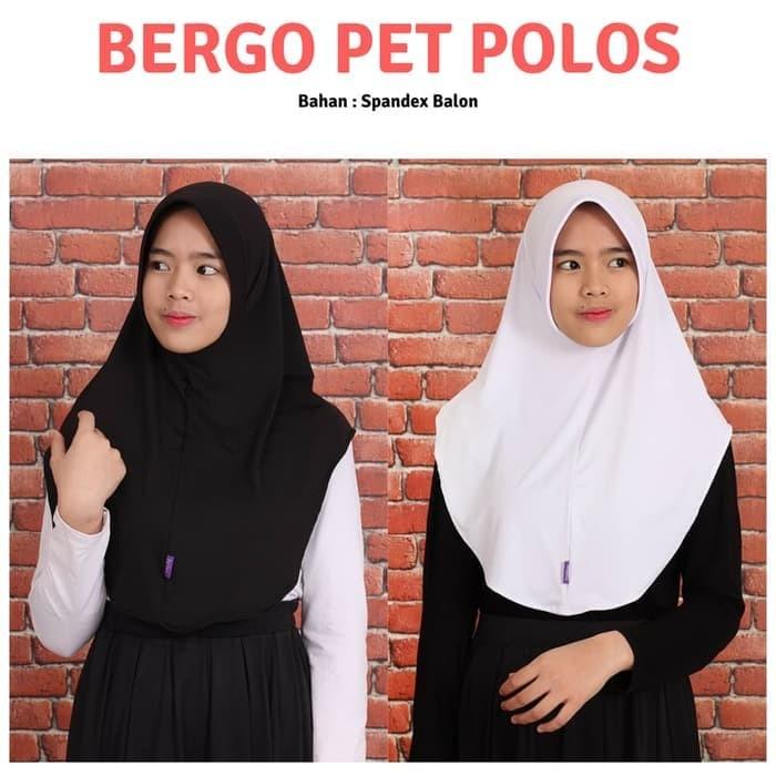 Jual Jilbab Kerudung Bergo Simple Pet Polos Instan Antem Dewasa Murah Kota Bandung Bandoeng Los Vamos Tokopedia