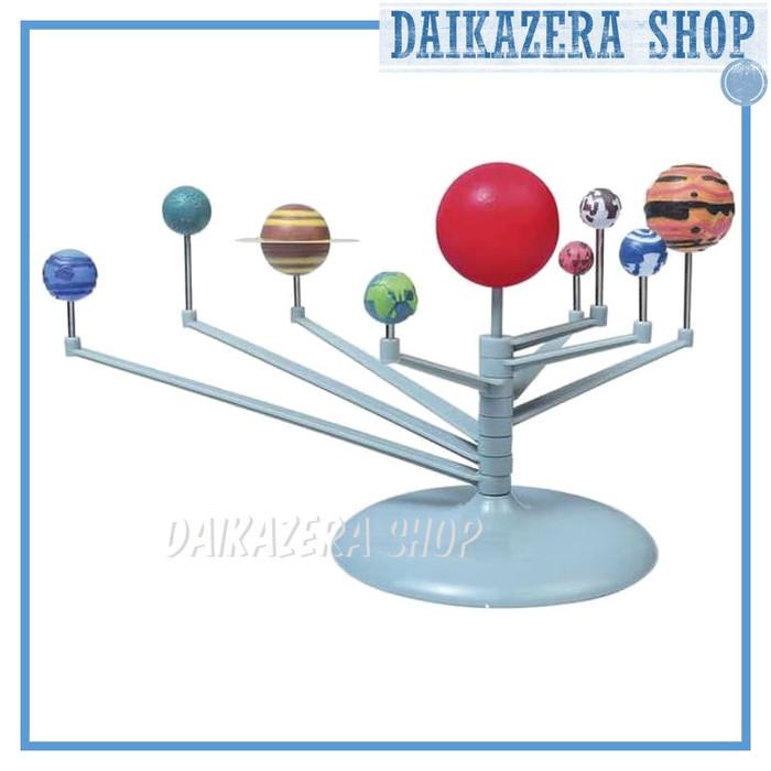 Foto Produk Mainan Eduksi Miniatur DIY Tata Surya 9 Planet Solar System Planetary dari Daikazera Shop