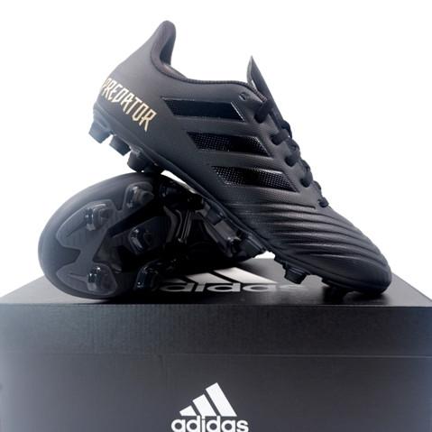 Promo Sepatu Bola Adidas Predator 19 4 Fxg Black F35600 Original