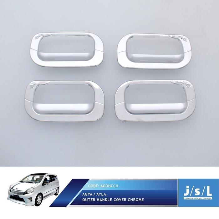 Foto Produk Toyota Agya Outer Handle Cover Chrome dari Autotivo