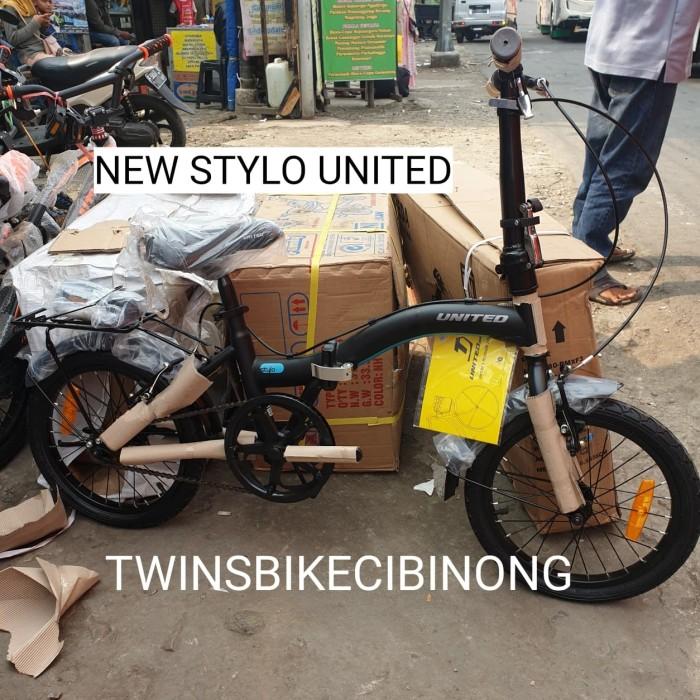 Jual Sepeda Lipat 16 United Stylo New - Kab. Bogor