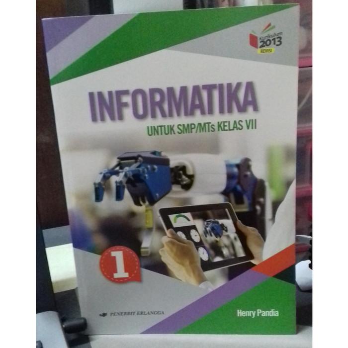 Jual Best Seller Original Informatika Smp Mts Kls Vii K13n Rev Erlangga Jakarta Pusat Toko Buku Mata Air Tokopedia