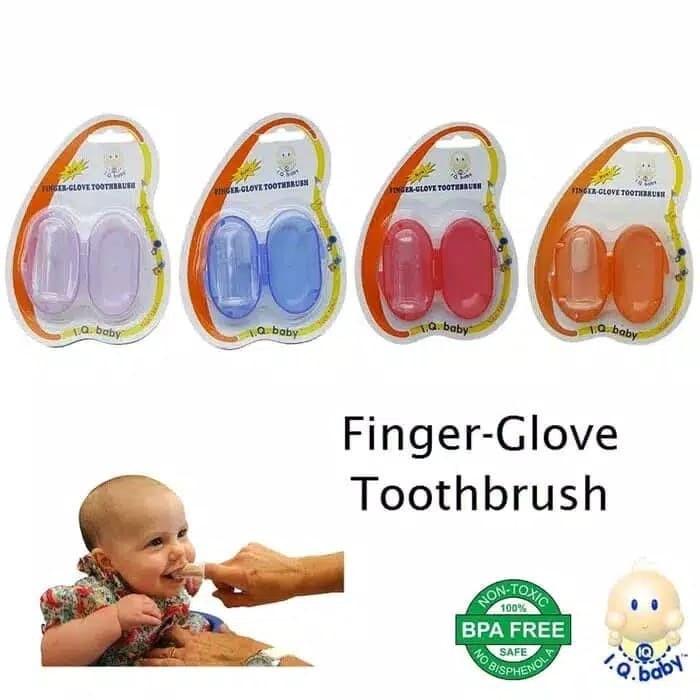 harga Sikat jari iq baby / sikat lidah / finger brush iq baby (non-toxic) Tokopedia.com