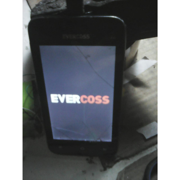 Jual hp-android evercoss A5A dualsim minus tc tdk bisa disentuh